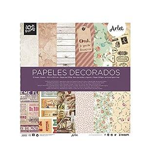 br/ papel scrapbooking Arlet 30,5x30,5br/