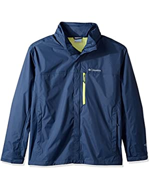 Men's Big-Tall Pouration Jacket, Zinc, 4XT