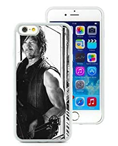 Case For iPhone 6,Walking Dead Daryl Dixon (3) White iPhone 6 (4.7) TPU Case Cover