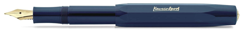 Kaweco Sport Classic, Fountain Pen, Navy, F (fine) B07K54YDBW