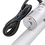 Happybuy 12 Inch Stroke Linear Actuator 12V DC with Mounting Bracket Heavy Duty 900N 10mm/s Linear Actuator for Recliner TV Table Lift Massage Bed Electric Sofa Linear Actuator