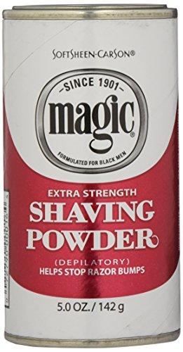 SoftSheen-Carson Magic Extra Strength Shaving Powder, 5 oz - Magic Shave Shaving Powder