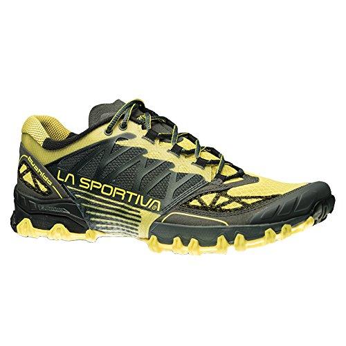 La Sportiva Bushido Scarpa Da Running - Mens Di Carbonio / Burro