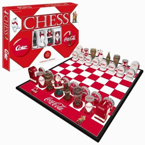 - Limited Edition Coca-Cola Chess Set by First Class Chess Sets
