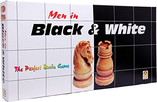 Kids Mandi TM Techno Men in Black and White Chess Set Royal Look and Classy Chess Play for All