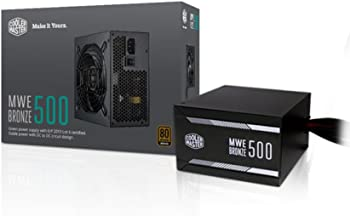 Cooler Master MWE Bronze 500 Watt Power Supply