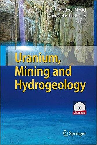 Book Uranium, Mining and Hydrogeology