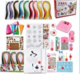 DalaB DIY Paper Quilling Set for begginner - (Color: Multi-Colored)