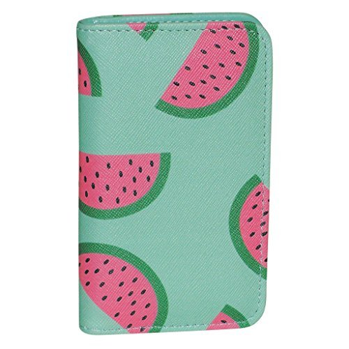 Price comparison product image Buxton Fruit Punch Pik-Me-Up Snap Card Case (Sugar Coral)