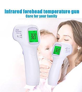 Amazon.com: Frente infrarrojo Temperatura pistola bebé ...