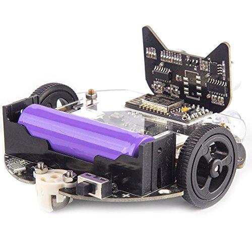 DenDen KittenBot Mini Programmable Robot Kit - Scratch 3 0 - Support Python  Program - STEM Education - Arduino - Programmable Robot Kit for Kids to