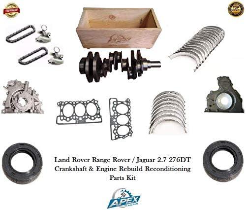 2.7 Cigüeñal TDV6 276DT + Kit de reconstrucción del motor y piezas de reconstrucción: Amazon.es: Coche y moto