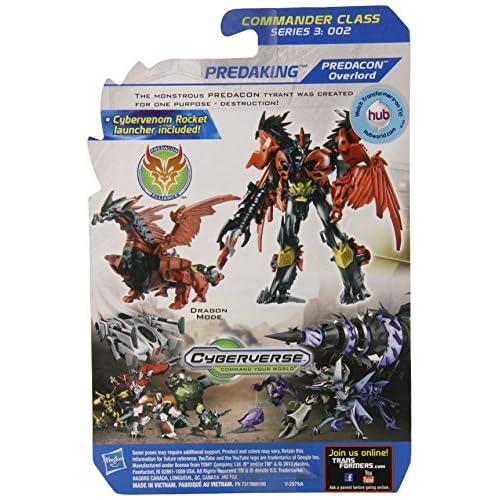 Transformers Prime Beast Hunters Commander Class Predaking Predacon Overlord Figure