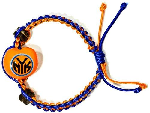 NBA New York Knicks Go Nuts Kukui Nut Macrame Bracelet