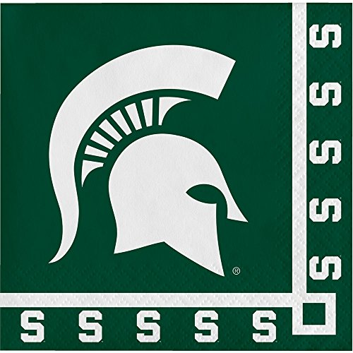 Michigan State Spartans Beverage Napkins, 20-Count]()