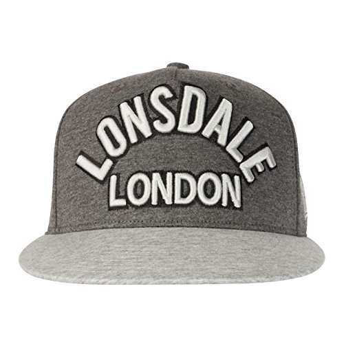 hombre Gorra gris Talla de gris béisbol única LONSDAL para dIqT7zRRw