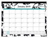 Blue Sky 2019 Monthly Desk Pad Calendar, Ruled Blocks, 22'' x 17'', Barcelona (100014-19)