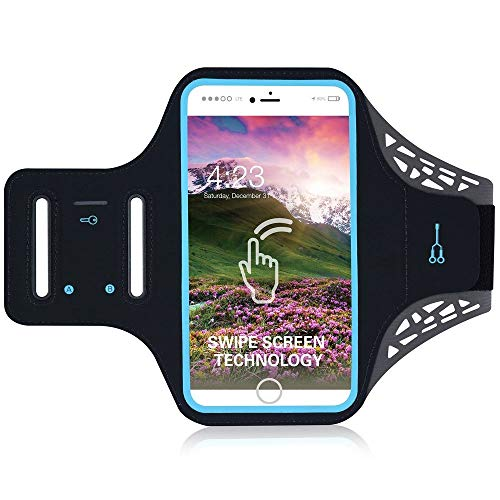 DFV mobile – Professional Cover Ultra-thin Armband Sport Walking Running Fitness Cycling Gym for SONY XPERIA XA2 PLUS…