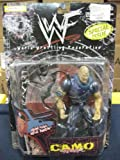 WWF / WWE - 1999 - Camo Carnage Series - Special Issue - RARE - Stone Cold Steve Austin Action Figure - w/ Amazing Accessories - Out of Production - New - Limited Edition - Collectible