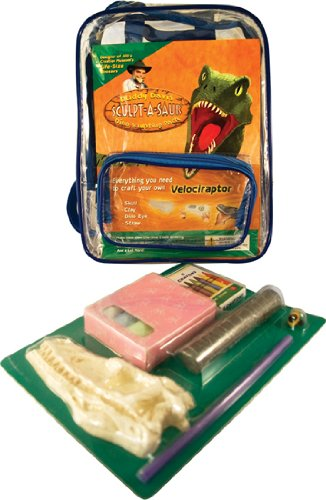 Buddy Davis' Sculpt-A-Saur Dino Activity Pak