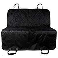 Clearance !!! Dog Car Seat Cover - Jushye Rear Waterproof Non Slip Backing Seat Cover for Car Trucks and SUV's ,Great Gift Foy your Cute Pet Black ; Ship From US Wearhouse