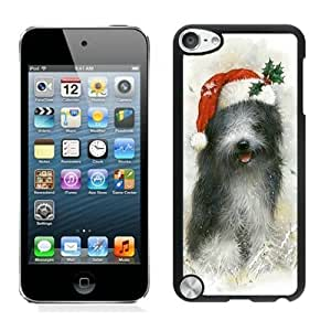 New Christmas Dog Black Diy For Iphone 4/4s Case Cover 28