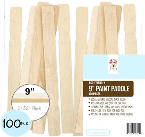 Wooden Paint Sticks 9