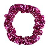 TFJH E One-Piece Sparkle Dancing Gymnastics Athletic Clothes for Little Girl Scrunchie HB001 HotPink