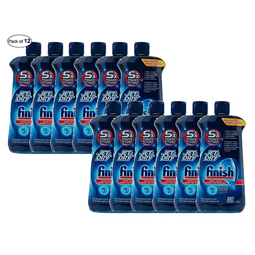 FINISH JET DRY RINSE ACTION 621ml (Pack of 12) by FINISH ®