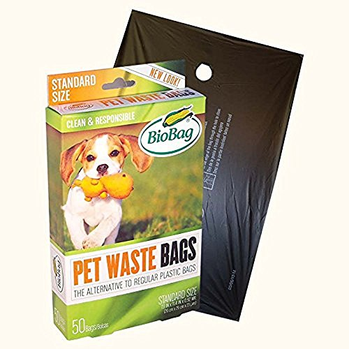 - Biobag Dog Waste Bags - 50 Count (Pack of 12)