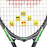 Alien Pros ZOOLIO Tennis Vibration Dampener- Set of 6 - Tennis Shock Absorber For Strings- Best For Tennis Racket, Premium- Durable & Long-Lasting- Great For Tennis Players