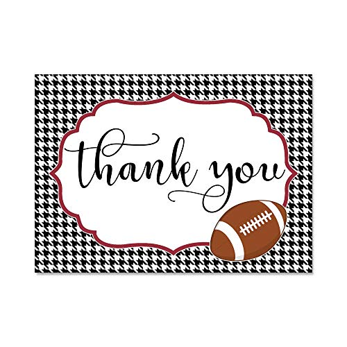 Set of 12 Thank You Notes and Envelopes with University of Alabama Tuscaloosa Roll Tide College Football TYTS8001