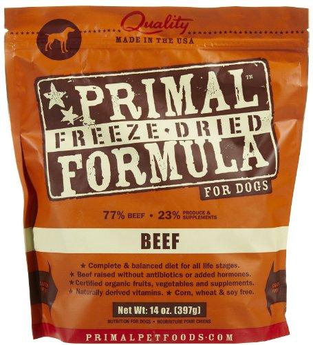 Primal Pet Foods Freeze-Dried Canine Beef Formula 14 oz
