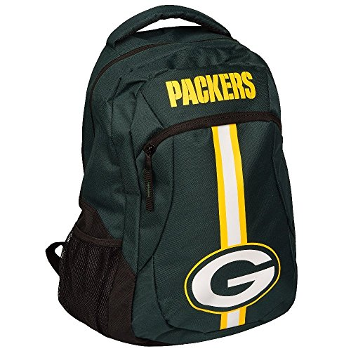 (FOCO Green Bay Packers Action Backpack)