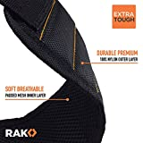 Picture of RAK Magnetic Wristband with Strong Magnets for Holding Screws, Nails, Drill Bits - Best Unique Tool Gift for Men, DIY Handyman, Father/Dad, Husband, Boyfriend, Him, Women (Black)
