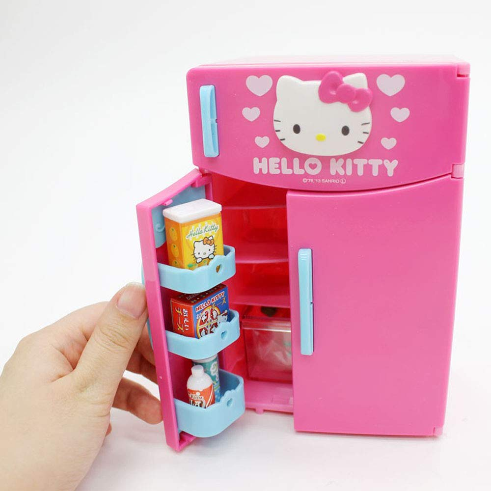 Hello Kitty Kitchen and Refrigerator Sets Sold Together - Everything Needed for Cooking Play by Hello Kitty (Image #8)