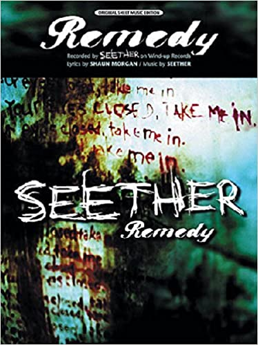 Remedy Sheet Music Pianovocalchords Seether Amazon Books