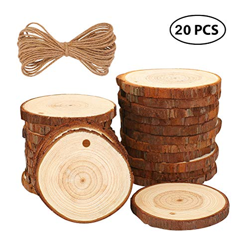 Top 10 recommendation wood circles with holes 3 inch