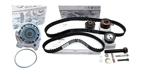 Original Volkswagen piezas dientes Correa de distribución T4 LT TDI Bomba de agua ruedas 2.5L TDI Motor ACV a Axl ayc Anj AVR BBE BBF: Amazon.es: Coche y ...