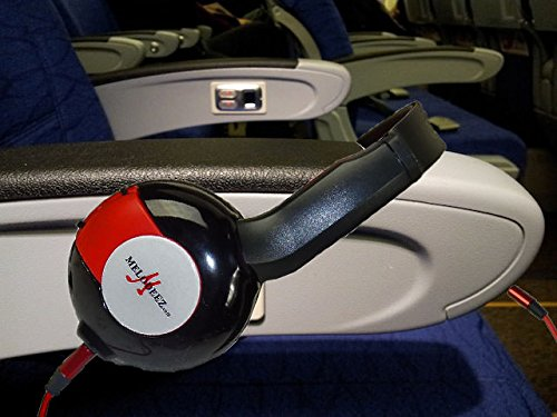 3 Pack Kid Sized Wireless Infrared Universal Car DVD IR Automotive Colored Adjustable 2 Channel Headphones With Case and 3.5mm Auxiliary Cord by Wisconsin Auto Supply (Image #2)