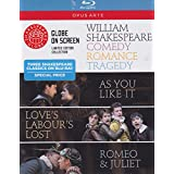 William Shakespeare: Comedy, Romance, Tradgedy [Blu-ray]