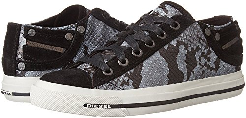 Diesel Exposure iv Low W Snake Print Womens Leather Trainers znV0Q