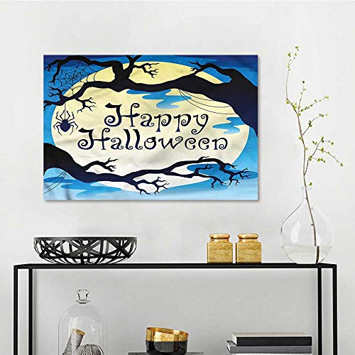 one1love Halloween Modern Decorative Painting Spooky Night with
