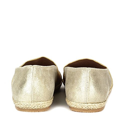 Elia B Shoes Biarritz Platine Espadrille Platine sfTsaqh
