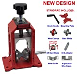 New Copper Wire Stipping Machine Cable Wire Stripper Manual Hand Crank & Drill Operated