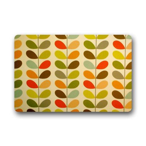 Orla Kiely Custom Doormat Indoor Outdoor Floor Mat (23.6'x15.7') Simple Real Other case