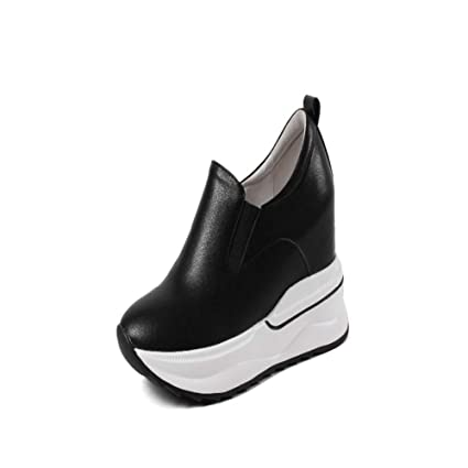 8f07db1707a Image Unavailable. Image not available for. Color  DETAIWIN Women Walking Wedge  Sneakers Casual ...