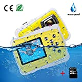 Kids Camera Underwater Digital Camera-IP68 Waterproof Toddler Camera,Video Recorder Action Preschool camera,2.0 Inch