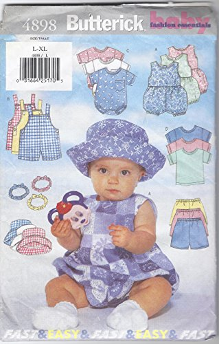 Butterick Fashion - Butterick Baby Fashion Essentials 4898