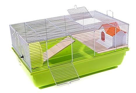 Jaula para roedores jaula de transporte para especialmente Kleine ...